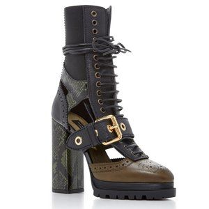 Burberry West Marsh Ankle Boots